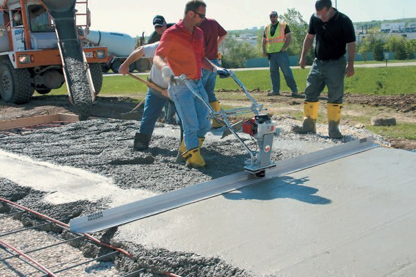 Виброрейка для укладки бетона купить цена отзывы