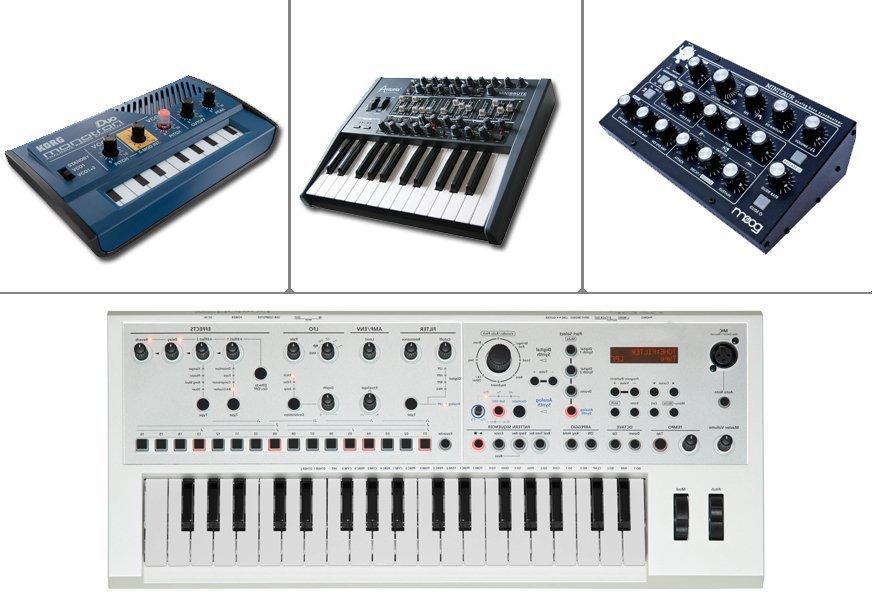 Виды профессиональных синтезаторов